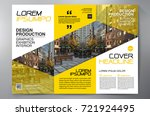business brochure. flyer design....   Shutterstock .eps vector #721924495