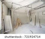 interior work in progress | Shutterstock . vector #721924714