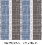 seamless damask pattern.... | Shutterstock .eps vector #721928251