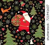 Seamless Christmas Holiday...