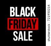 abstract vector black friday... | Shutterstock .eps vector #721950214