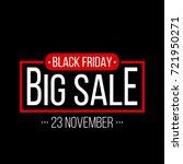 abstract vector black friday...   Shutterstock .eps vector #721950271