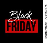 abstract vector black friday... | Shutterstock .eps vector #721950475