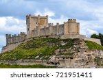 penafiel castle  valladolid... | Shutterstock . vector #721951411
