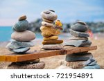 stones balance and wellness ...   Shutterstock . vector #721954891