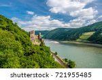Rheinstein Castle At Rhine...