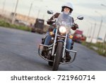 front view at the moving...   Shutterstock . vector #721960714
