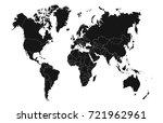 world map | Shutterstock .eps vector #721962961