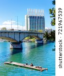 Pedro De Valdivia Bridge With...