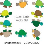 hand drawn simple cartoon color ... | Shutterstock .eps vector #721970827