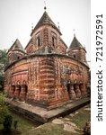 Small photo of Lord Krishna shrine of Pancharatna Govinda temple complex, Puthia village, Bangladesh.