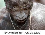 ouidah  benin   january 10 ... | Shutterstock . vector #721981309