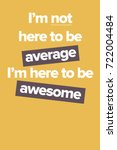 vector poster with the phrase ...   Shutterstock .eps vector #722004484