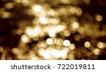 beautiful gold abstract... | Shutterstock . vector #722019811