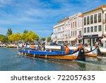 aveiro  portugal   july 25 ... | Shutterstock . vector #722057635