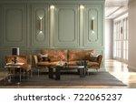 interior living room  modern... | Shutterstock . vector #722065237