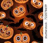 vector seamless pattern for... | Shutterstock .eps vector #722078659