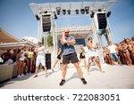 odessa  ukraine august 9  2014  ... | Shutterstock . vector #722083051