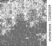 vector halftone black and white....   Shutterstock .eps vector #722083339