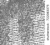vector halftone black and white....   Shutterstock .eps vector #722083375