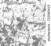 vector halftone black and white....   Shutterstock .eps vector #722085415