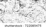 black white grunge vector...   Shutterstock .eps vector #722085475