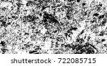 grunge black and white urban...   Shutterstock .eps vector #722085715