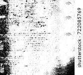 grunge black and white urban...   Shutterstock .eps vector #722085769