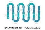 vector timeline infographics...   Shutterstock .eps vector #722086339