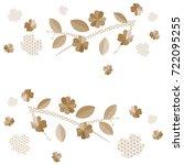 japanese pattern vector in...   Shutterstock .eps vector #722095255