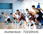 beijing  china   sept.24  cba... | Shutterstock . vector #722104141
