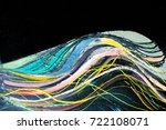 fragment of the picture ...   Shutterstock . vector #722108071