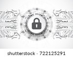 protection concept. protect... | Shutterstock .eps vector #722125291