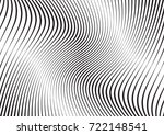 abstract twisted background.... | Shutterstock .eps vector #722148541