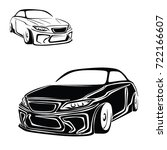 race car. sport car vector | Shutterstock .eps vector #722166607