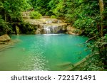 a secret gem in the deep forest.... | Shutterstock . vector #722171491