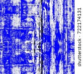 grunge blue seamless pattern.... | Shutterstock . vector #722174131