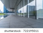 modern office building... | Shutterstock . vector #722195011