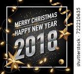 2018 happy new year vector...