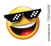 """""""deal with it"""" emoji isolated... 