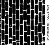 distress brick wall masonry...   Shutterstock .eps vector #722217505