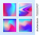 creative   vibrant gradients.... | Shutterstock .eps vector #722221927