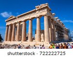 athens  greece   june  2011 ... | Shutterstock . vector #722222725