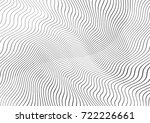 abstract twisted background.... | Shutterstock .eps vector #722226661