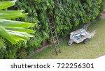 garden working equipment | Shutterstock . vector #722256301