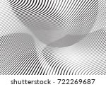 abstract twisted background.... | Shutterstock .eps vector #722269687