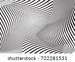 abstract twisted background.... | Shutterstock .eps vector #722281531
