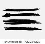 grunge paint stripe . vector...   Shutterstock .eps vector #722284327