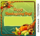 sketch for card or private... | Shutterstock .eps vector #722290024