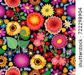 Colorful Flourish Carpet....